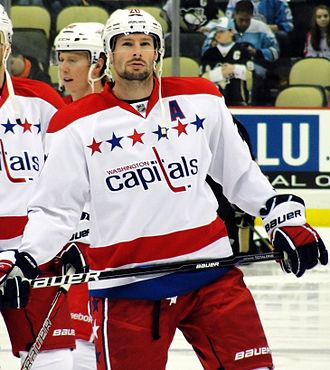 Troy Brouwer - Brouwer during his time with the Washington Capitals