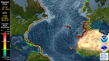File:Tsunami Forecast Model Animation- Lisbon 1755.webm