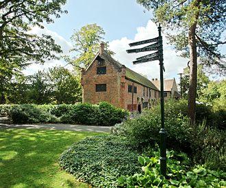Well Hall - Tudor Barn, in Well Hall Pleasaunce.