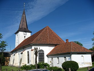 Tukums - Lutheran church in Tukums