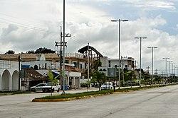 La urbo Tulúm laŭ Highway 307