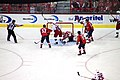 Tuomo Ruutu starts the Hurricanes long scoring run (4376399226).jpg