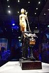 Tutankhamun Treasure in Paris - Toutânkhamon chevauchant une panthère noire 02.jpg