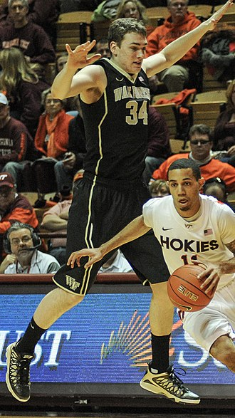 Tyler Cavanaugh - Tyler Cavanaugh (34) playing for Wake Forest