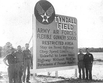 Tyndall Air Force Base - Welcome To Tyndall Field, World War II