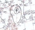 Typhoon Nina July 18, 1966 surface analysis.png