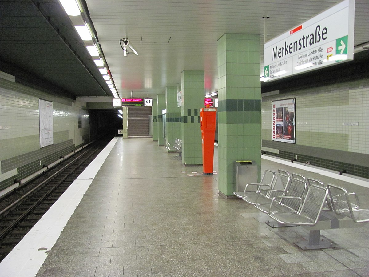 merkenstra e hamburg u bahn station wikipedia. Black Bedroom Furniture Sets. Home Design Ideas