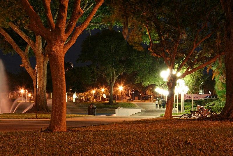 File:UCF Campus Night.jpg