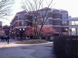 University of Michigan Library - The Shapiro Library Building