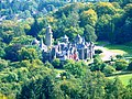 UNESCO World Heritage - View to Lionscastle from the Herkules Monument in Kassel in Northern Hesse.JPG