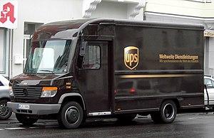 Mercedes-Benz Vario - Image: UPS Truck