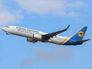 Ukraine International Airlines - UIA Boeing 737-800
