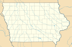 Mitchell is located in Iowa