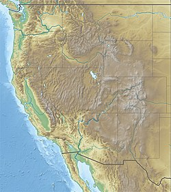 1892 Laguna Salada earthquake is located in USA West