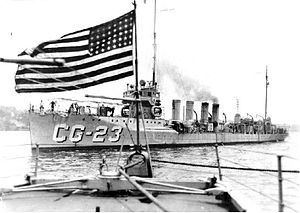 Lead ship Tucker in United States Coast Guard service, c. 1926–1933