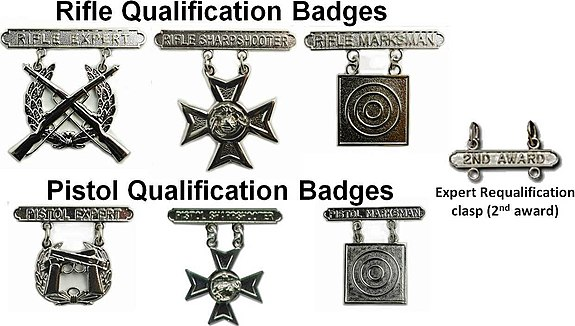 Marksmanship badges (United States) - Wikipedia