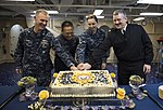 USS America's celebration of the Navy's 239th birthday 141013-N-LD343-002.jpg