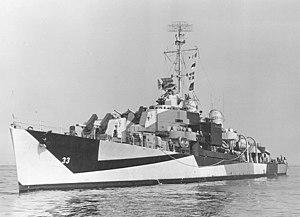 USS Gwin (DM-33) - Image: USS Gwin (DM 33) in 1944