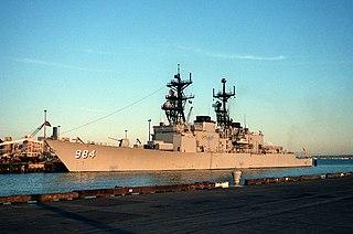 USS <i>Leftwich</i> Spruance-class destroyer