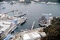 USS Midway (CV-41) and USS Clue Ridge (LCC-19) in Yokosuka.jpg