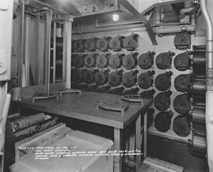 USS North Carolina clipping room NARA BS 29214.jpg