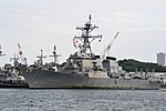 USS O'Kane(DDG-77) left front view at U.S. Fleet Activities Yokosuka April 30, 2018 01.jpg