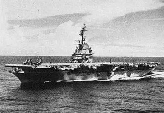 USS Randolph (CV-15) - USS Randolph after her SCB-27A modernization.