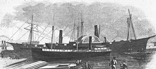 USS <i>Valley City</i> (1859) 190-ton steamer used by the Union Navy during the American Civil War