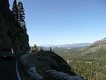 US Route In California Wikipedia - Us 50 closure map
