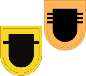 509th Infantry Regiment (United States) - Image: US Army 509th Inf Reg Flashes