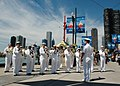 US Navy 060520-N-3342W-004 The Great Lakes Ceremonial Navy Band performs on Chicago's famous Navy Pier.jpg