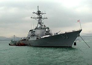 المدمرة الامريكية من طراز Arleigh Burke	 300px-US_Navy_061128-N-4953E-004_The_guided-missile_destroyer_USS_Stethem_%28DDG_63%29