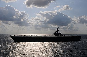 US Navy 120120-N-GZ832-284 The Nimitz-class aircraft carrier USS Carl Vinson (CVN 70) is underway in the Arabian Sea.jpg