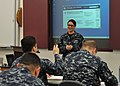 US Navy 120201-N-UN340-007 Information Systems Technician 2nd Class Brenna Presnall, assigned to NR Space and Naval Warfare Systems Command (SPAWAR.jpg