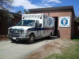 University of Maine - One of the University of Maine's ambulances.