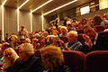 Uczestnicy uroczystości 10-lecia Parku Ocalałych w Łodzi w audytorium im, Zissmanów w Centrum Dialogu im. Marka Edelmana MZW DSC03858.jpg