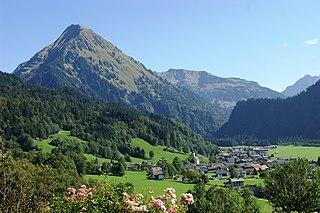 Schoppernau Place in Vorarlberg, Austria