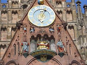 Frauenkirche, Nuremberg - The Männleinlaufen.