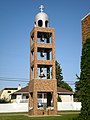 Ukrainian Orthodox Church belltower, Vegreville 01.jpg