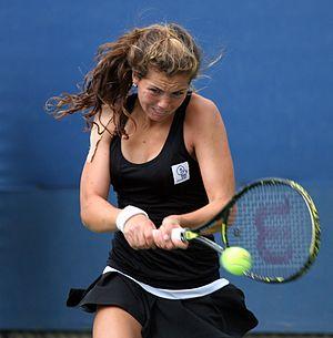 Ulrikke Eikeri - Ulrikke Eikeri at the 2009 US Open