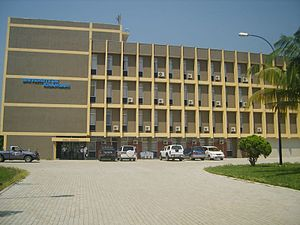 University of Kisangani - Administrative building of the university of Kisangani