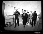 United States Navy sailors with female visitors on board USS ASTORIA (8629784411).jpg