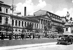 Nicholas Georgescu-Roegen - University of Bucharest around 1921.