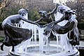 Untermeyer Fountain covered in ice.jpg