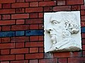 Unusual Sculpture on House Wall - geograph.org.uk - 1656914.jpg