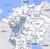 Lage des Oberrheinischen Kreises im Heiligen Römischen Reich