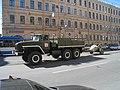 Ural-4320 towes MT-12 gun.jpg