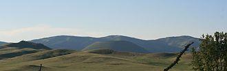 Bulgan Province - Uran Togoo, a mountain in western Bulgan