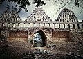 Uxmal Pigeon House Group Roofcomb & Arch (9785369194).jpg