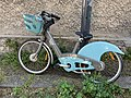 Vélo Vélib' Rue Cheval Rû Fontenay Bois 2.jpg
